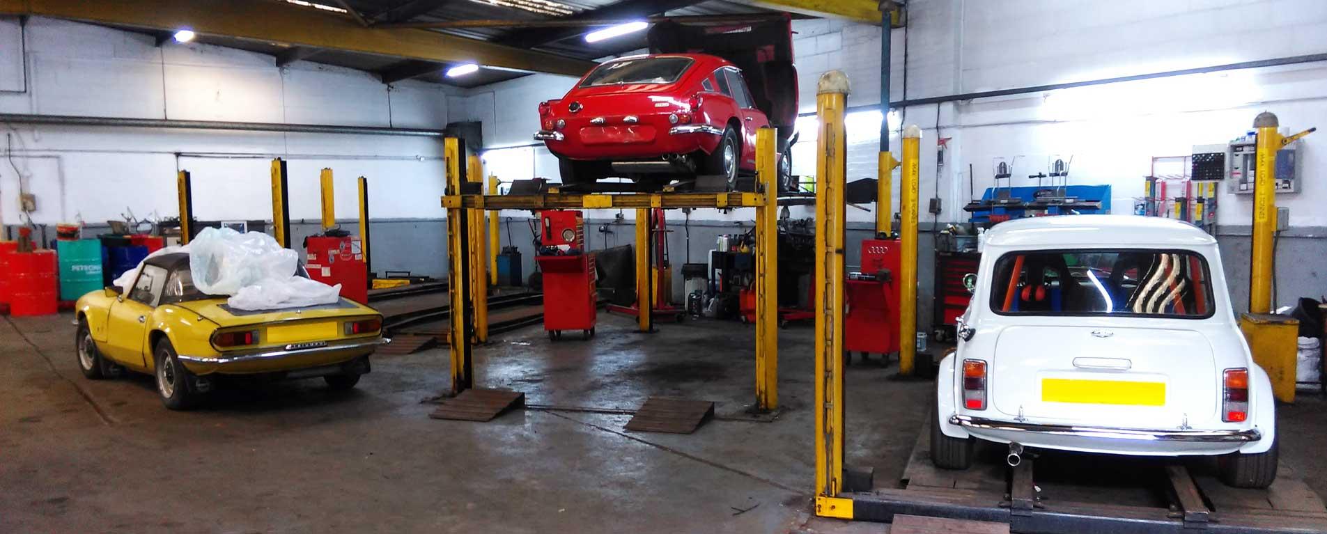Classic Car Garage